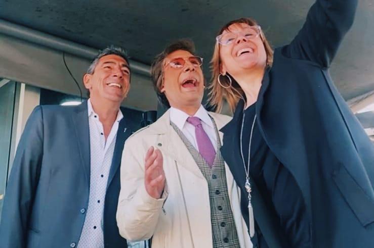 ¡El reencuentro de Jorge Fomento y Silvio Soldán en Mucha Radio!